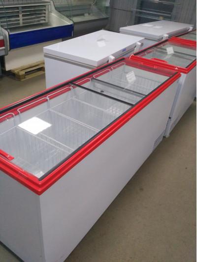 Ларь морозильный Ангара-600 стекло