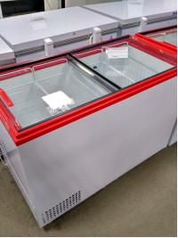 Ларь морозильный Ангара-400 стекло