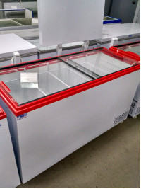 Ларь морозильный Ангара-500 стекло